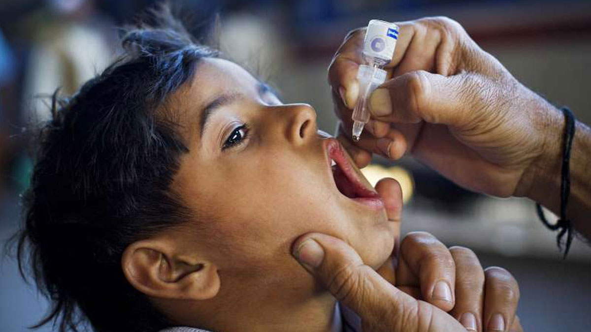 anti polio campaign begins in five districts of kp leap
